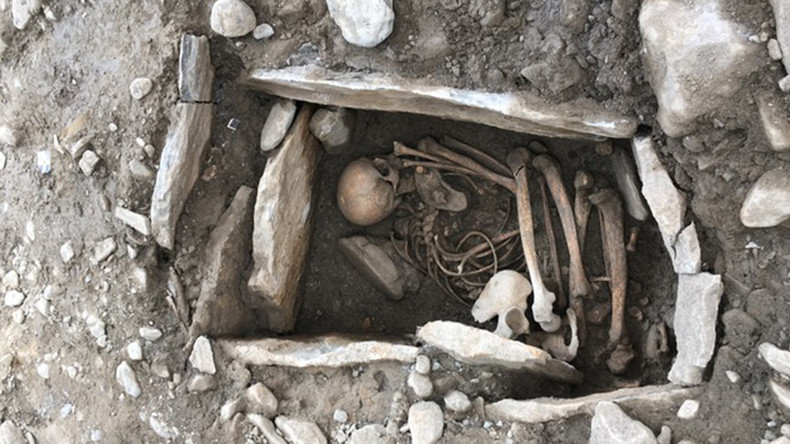 Ancient human remains discovered at site of 7,000yo village (PHOTO)