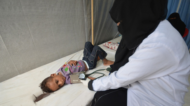 Saudi Arabia donates $66.7mn to stop cholera crisis in Yemen as it continues to bomb & blockade it