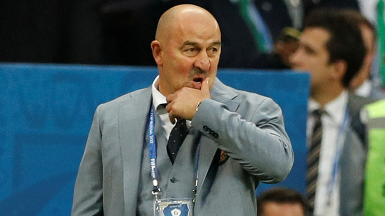 'This is my mistake, I will take it upon myself' - Russia manager Cherchesov on Confed Cup