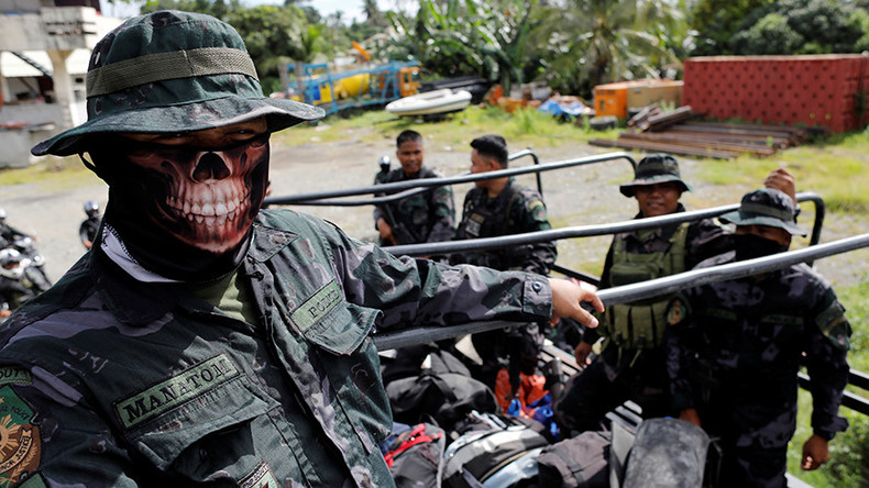 Philippine army halts counter-terrorist op in Marawi for Muslim holiday