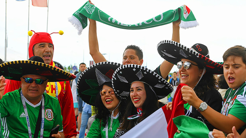 'Super friendly, welcoming & humble!' – Mexican fans on Russian Confed Cup welcome