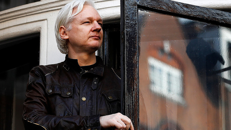 Assange criticizes 'doomed' Democratic party for stirring Russia-Trump 'hysteria'