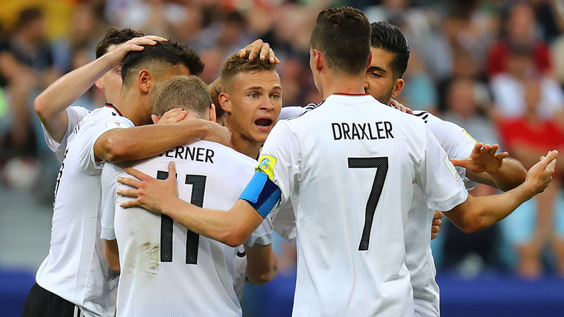 Germany 3-1 Cameroon: World champions ease into Confed Cup semifinals as Group B winners
