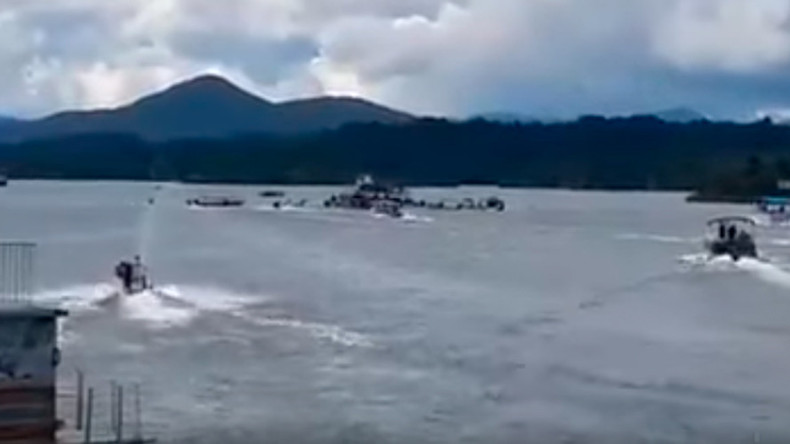 At least 6 dead, 31 missing after crowded tourist boat sinks in Colombian reservoir