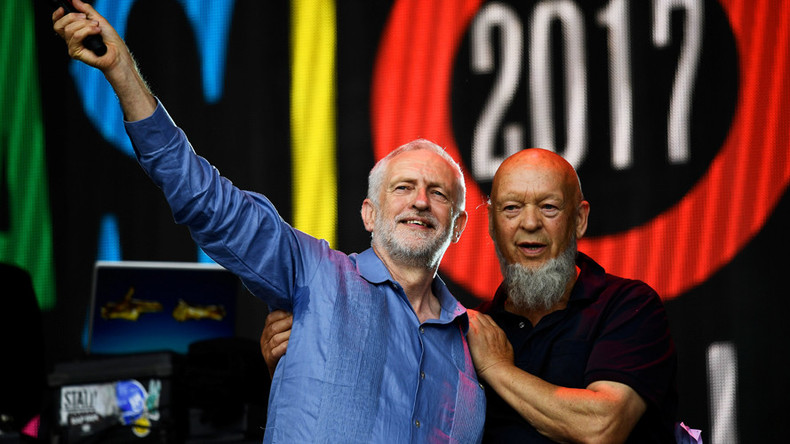 Jeremy Corbyn told Glastonbury Festival founder he'll 'scrap Trident nuclear weapons'
