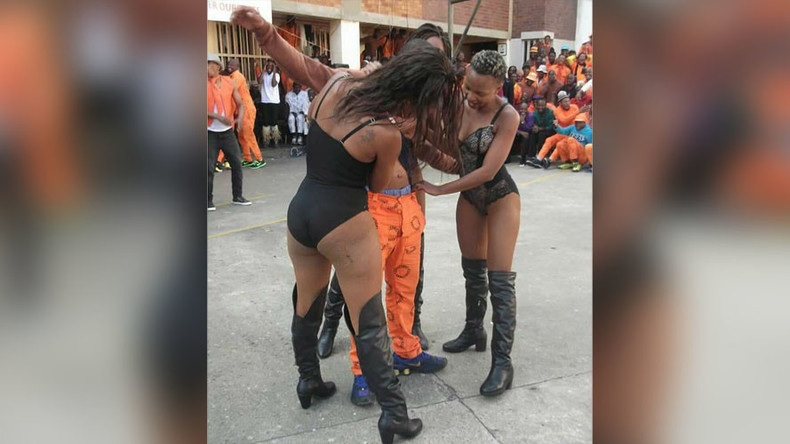 Strip show at notorious South African prison sparks outrage, 13 officers suspended (PHOTOS)