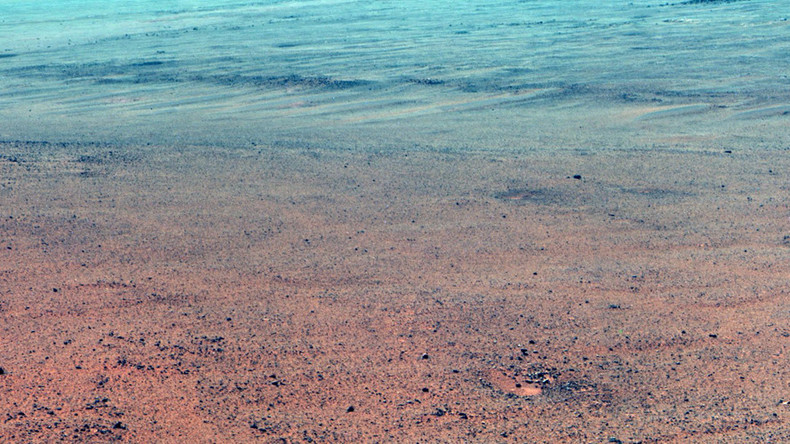 NASA's Opportunity rover may have uncovered ancient Martian lake