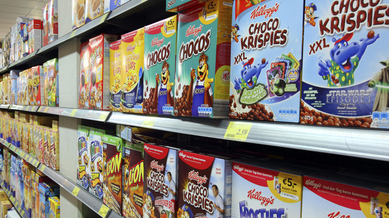 More than half of foods marketed to kids are junk – obesity research