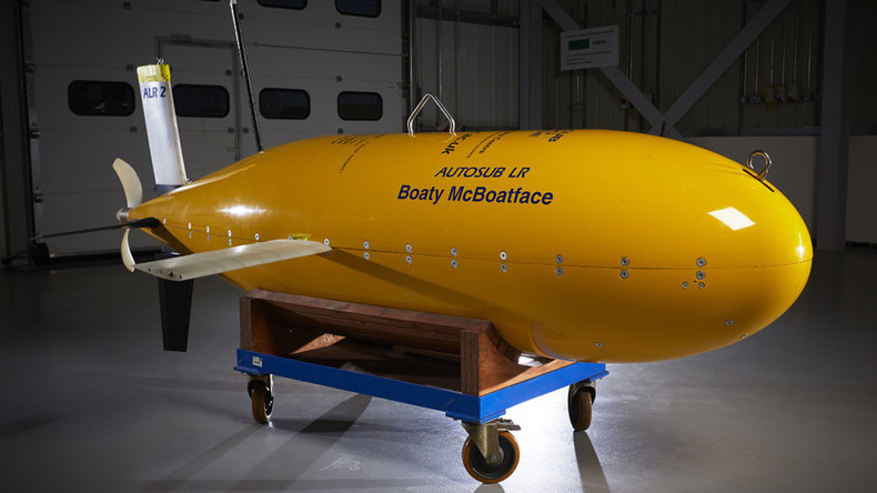 Boaty McBoatface returns from Antarctic with 'massive amounts' of climate change data (VIDEO)