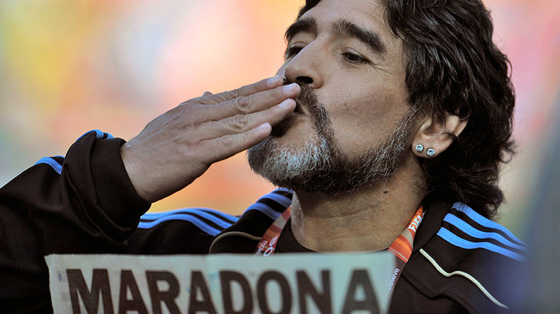 Putin is a phenomenon, Trump is a cartoon character – Maradona