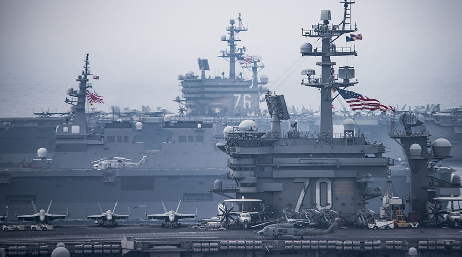 Japanese, US militaries launch major joint drills amid growing N. Korea tensions