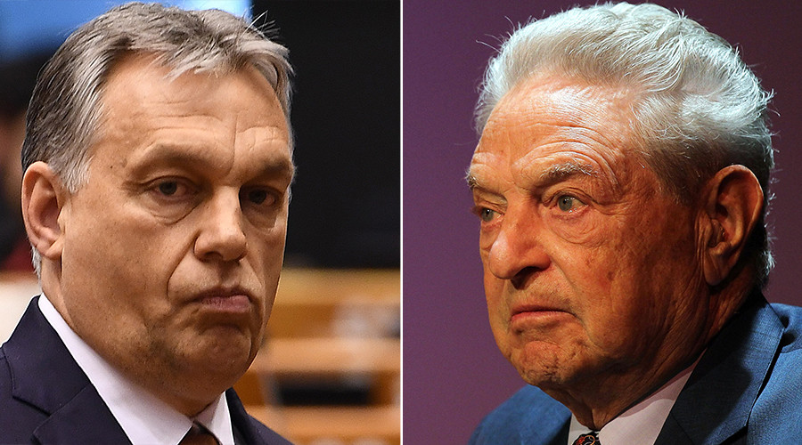 Soros 'mafia state' speech a declaration of war – Hungarian PM Orban