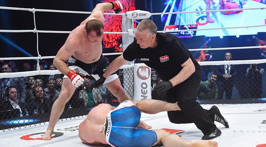 MMA veteran Shlemenko destroys Halsey in 25 seconds, says he's 'up for bigger goals now' (VIDEO)