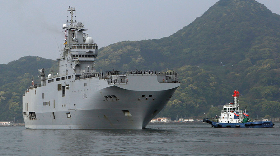 France invites Asia-Pacific states to purchase Mistral-class ships