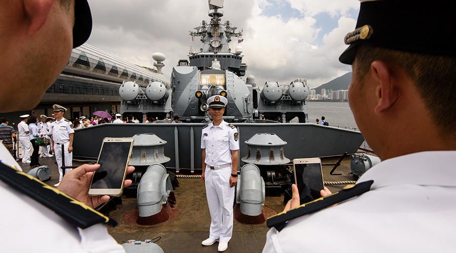 Russian missile cruiser Varyag makes historic port call in Hong Kong (VIDEO, PHOTOS)