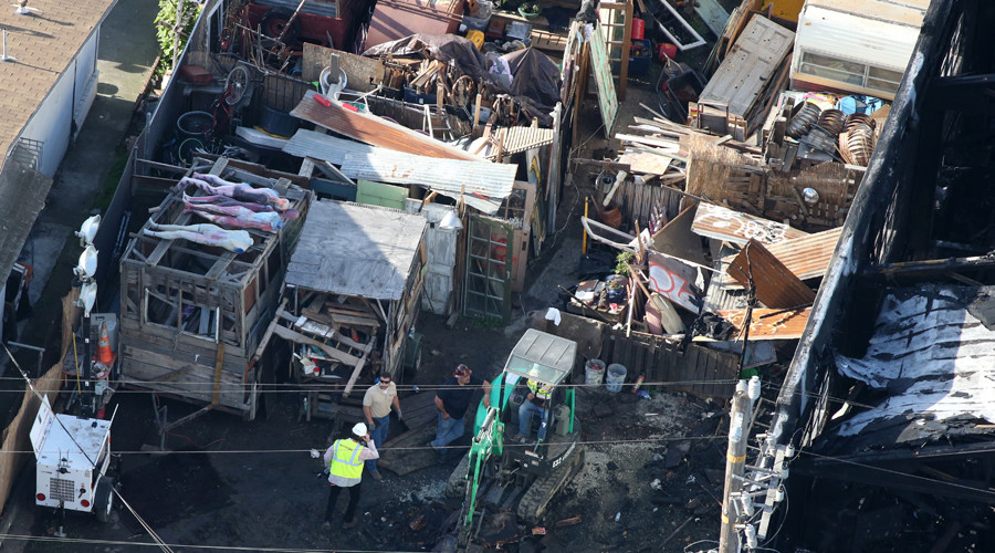 2 men charged over 'Ghost Ship' Oakland warehouse fire killing 36