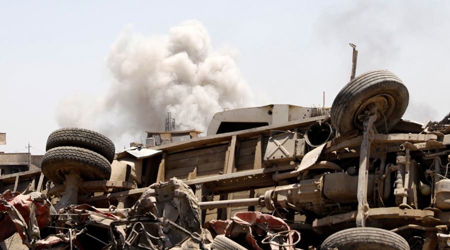 UN investigates reports of up to 80 civilians killed by airstrike in ISIS-held part of Mosul