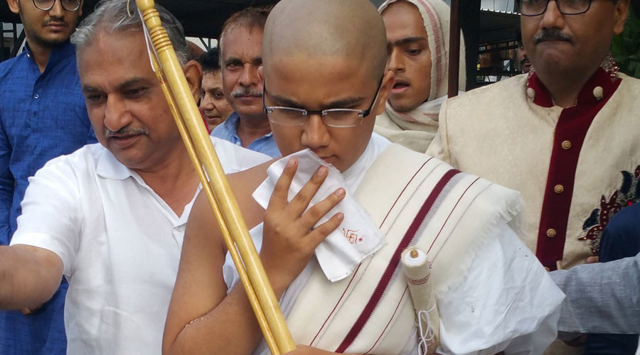 'Scoring top marks doesn't give happiness': India's best student renounces the world to become monk