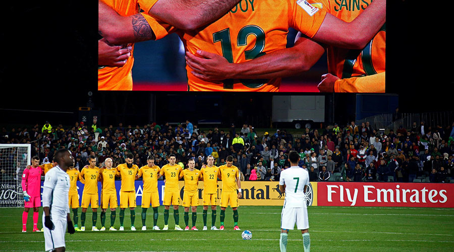 Saudi football team under fire for failing to line up to honor London attack victims