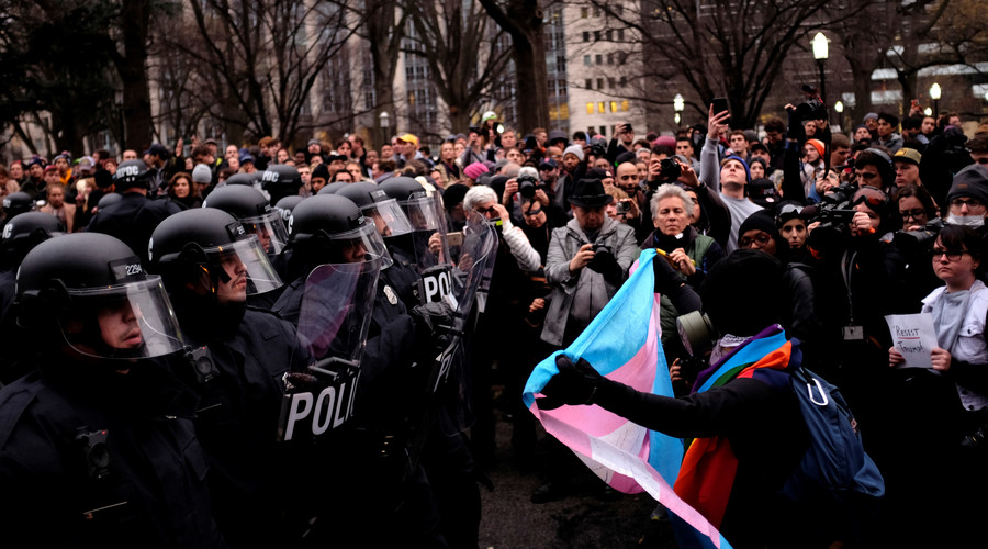 Journalist indicted on felony rioting at Trump inauguration faces 75 years in prison