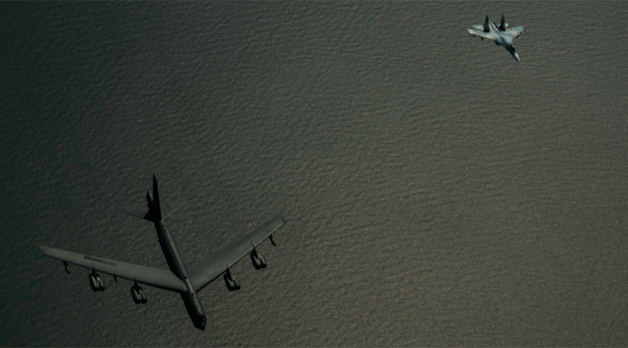 Russian fighter jet intercepts 2 US bombers over Baltic Sea (PHOTOS)