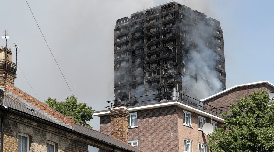 120 homes, 24 storeys: £10mn Grenfell Tower upgrade completed just last year (PHOTOS)