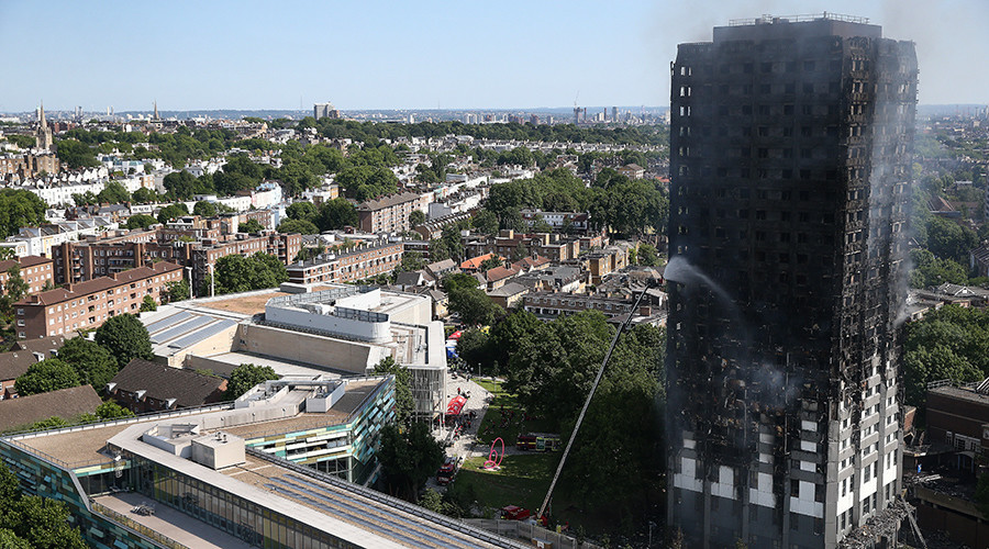 London tower fire: Twitter captures aftermath of 'unprecedented' blaze (VIDEOS, PHOTOS)