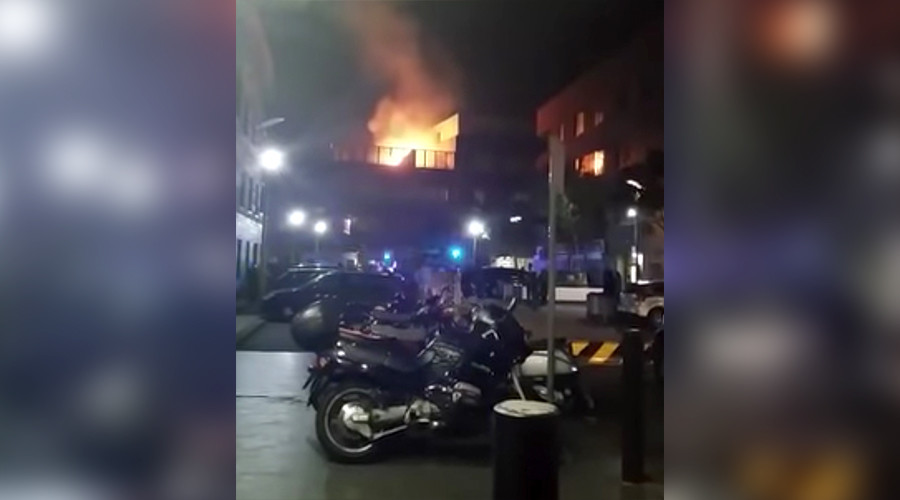 #Shadwell: Blaze at 2nd London apartment block just days after Grenfell disaster (PHOTOS, VIDEOS)