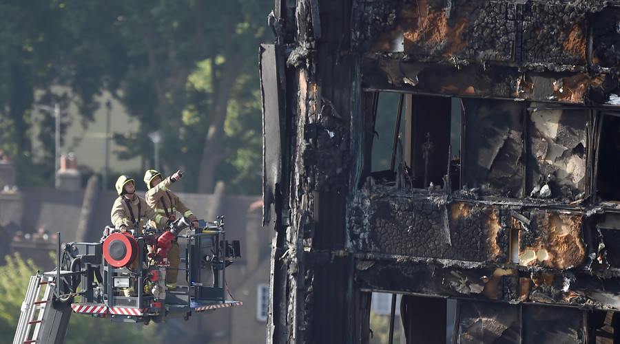 30 now confirmed dead in London tower fire – police