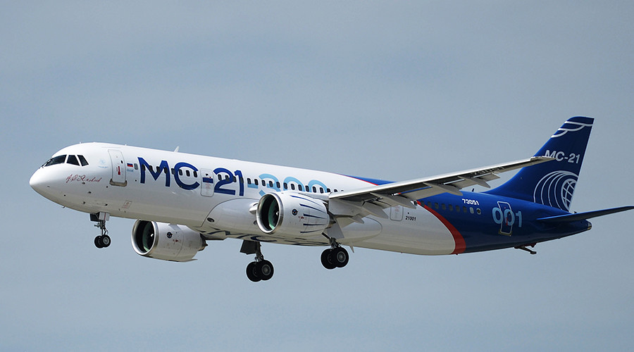 Aeroflot secures $5bn deal for 50 Russian-built MC-21 passenger jets