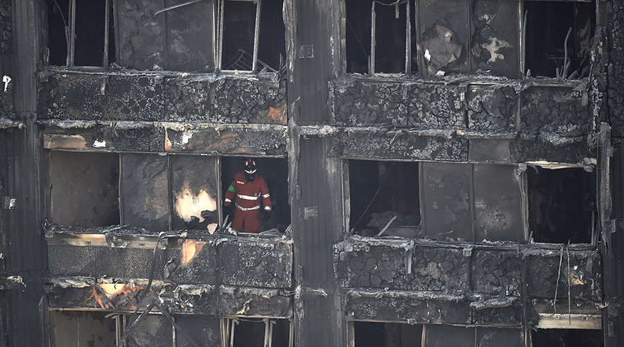 Theresa May admits gov response to Grenfell fire 'not good enough'