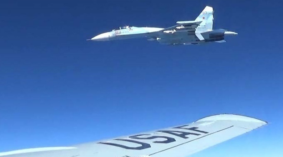 Russian MoD takes drama out of US Air Force's video report on 'intercepts' near Baltics