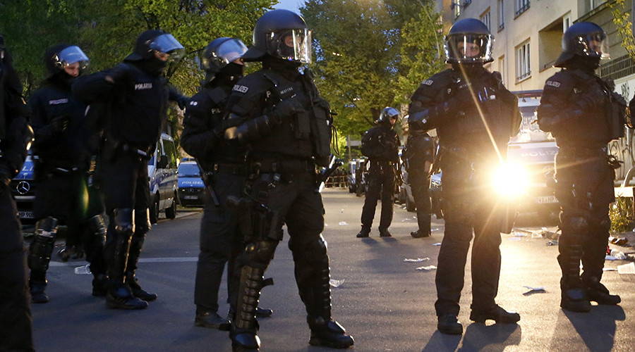 15 officers injured as mob of 150 people goes on rampage in Magdeburg, Germany overnight