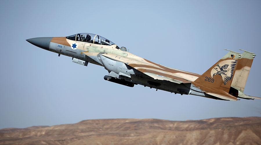 Israeli warplanes target 2 Syrian tanks over spillover cross-border fire (VIDEO)