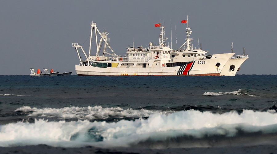 Japan files protest against Chinese coast guard patrols near disputed islands