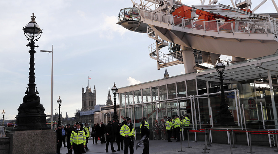 London Eye evacuated as suspected WWII-era bomb reported in Thames (PHOTOS)