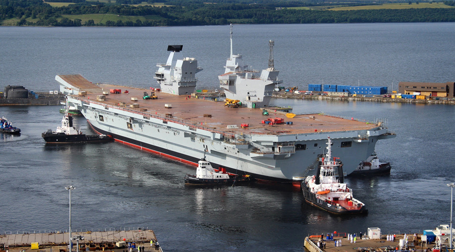Controversial £3bn aircraft carrier HMS Queen Elizabeth finally set for sea trials