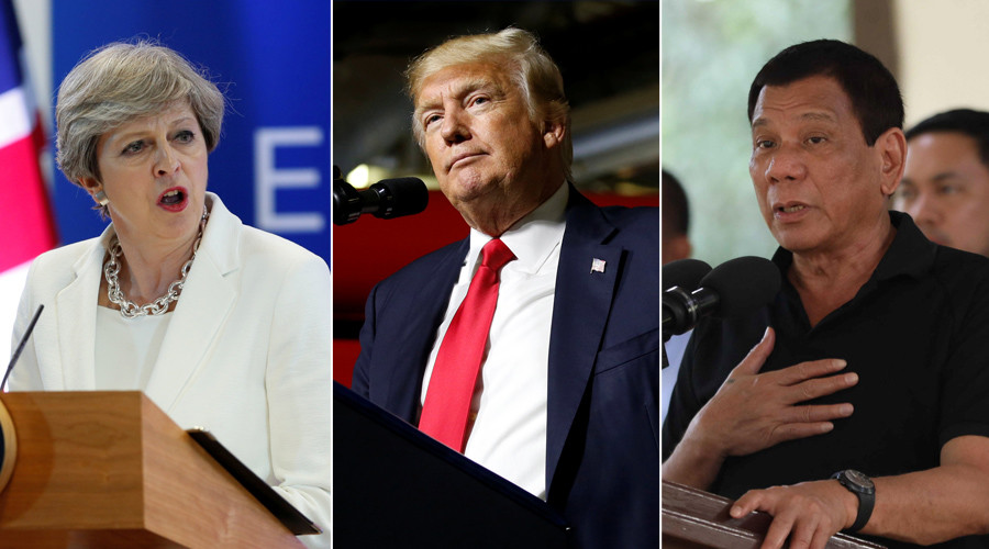 May, Trump & Duterte scolded by UN human rights chief
