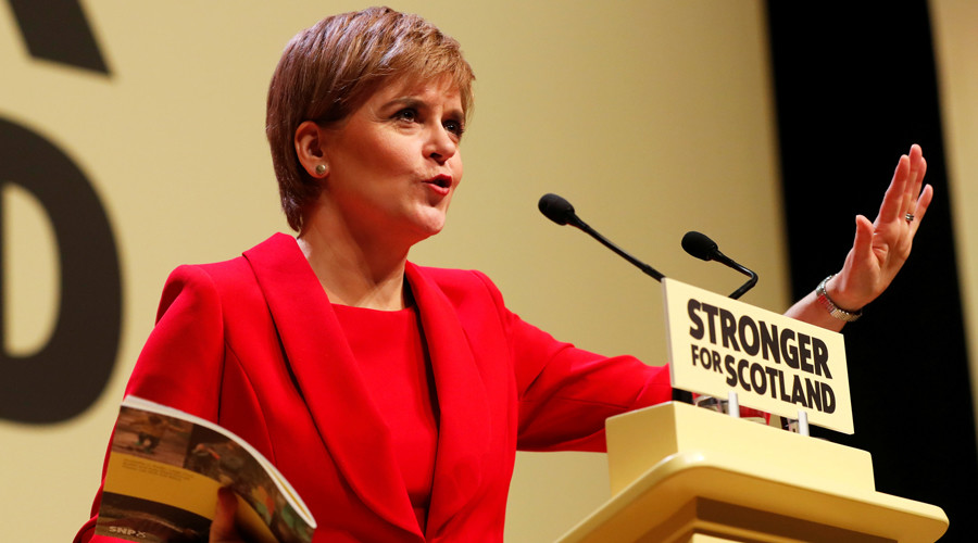 Sturgeon drops plans for 2nd Scottish independence referendum until after Brexit deal