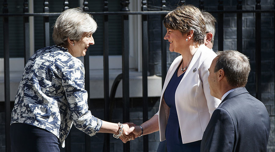 #NastyParty: Twitter fumes as Tories find £1bn for DUP but deny emergency workers pay rise