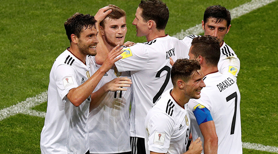 Germany 4-1 Mexico: World champs march through to final after Sochi success