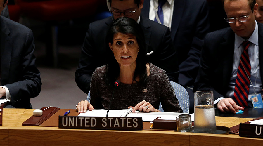 'Scorpion & frog': Haley uses fable to blast Iran as UN & EU say Tehran complies with nuclear deal