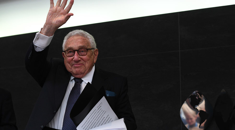 Global leadership part of Washington's DNA, while Russia has been 'defender & advocate' – Kissinger