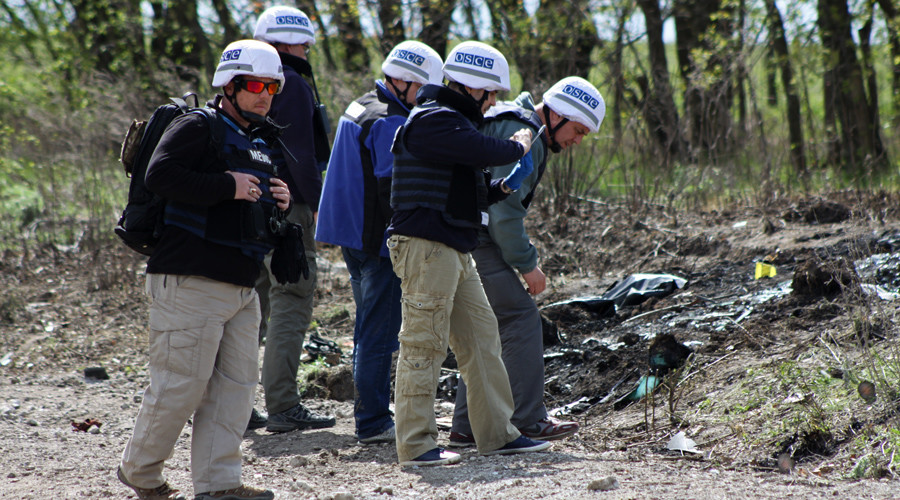 OSCE denies Ukrainian claims monitoring mission was shelled by rebels
