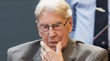'Bookkeeper of Auschwitz' cites his 'right to life' in prison appeal
