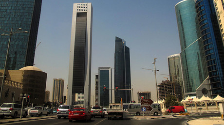 Skyscrapers in the Qatari capital Doha. © Patrick Baz