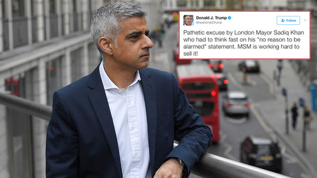 US embassy in London praises Mayor Sadiq Khan... despite Trump Twitter attack