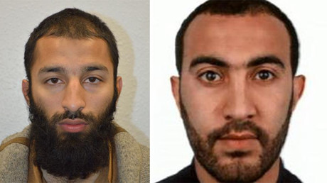 Khuram Shazad Butt (left) and Rachid Redouane (right) @metpoliceuk