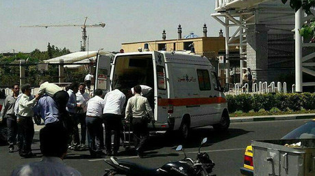 12 killed, dozens injured in shootings & bombings at Iranian parliament & Khomeini shrine