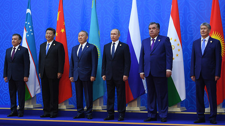 The SCO summit in Astana, Kazakhstan © Vladimir Astapkovich